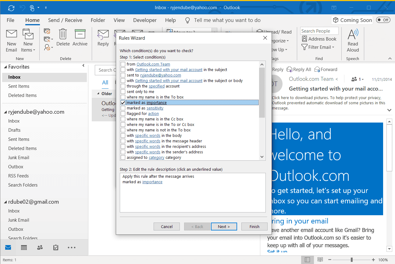 Apply Categories Automatically With Rules in Outlook