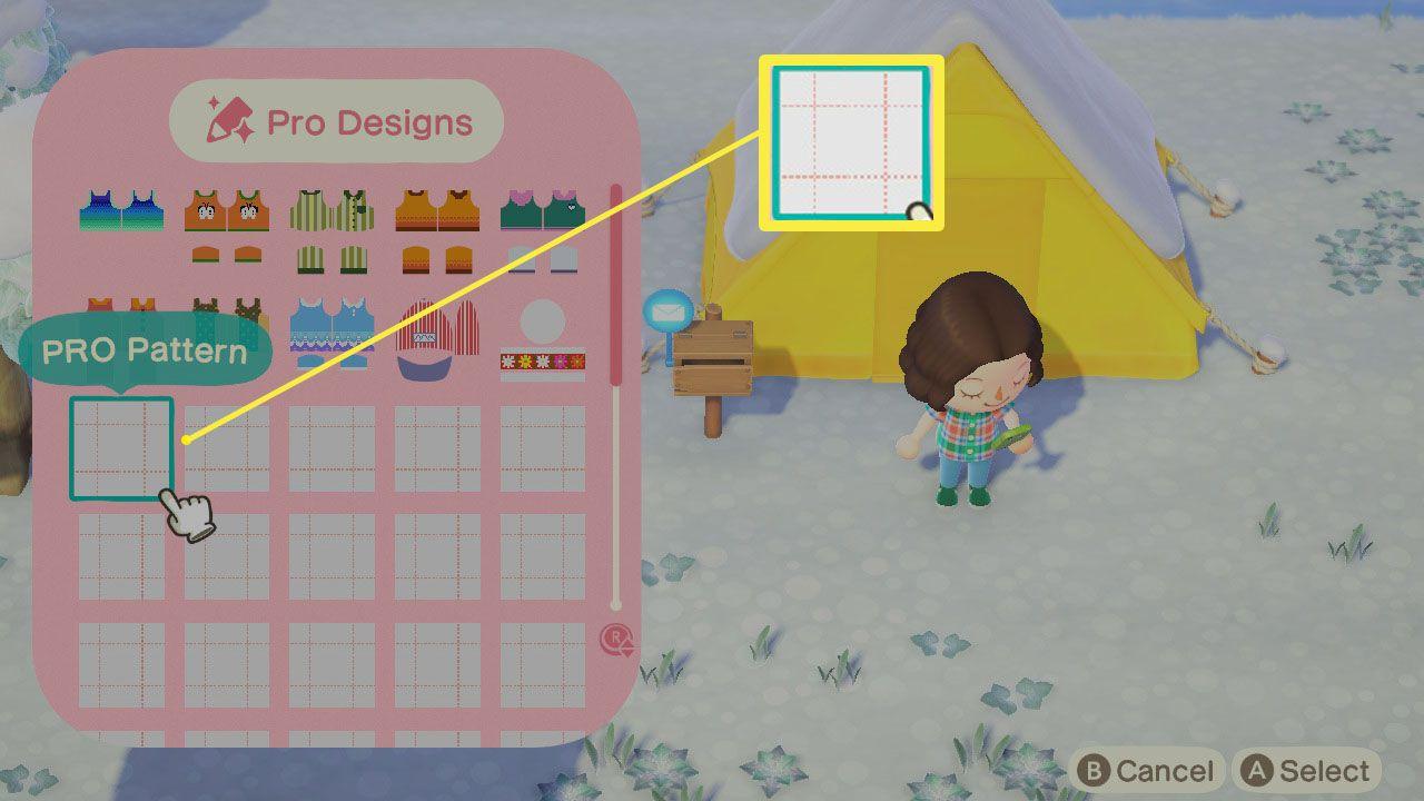 Empty Design slot on Nook Phone in Animal Crossing: New Horizons