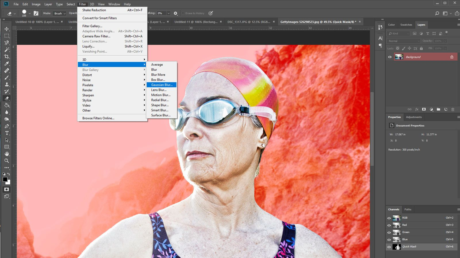 How to Blur a Background in Photoshop