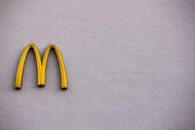 McDonald's logo on wall Reno Weathers Economic Downturn