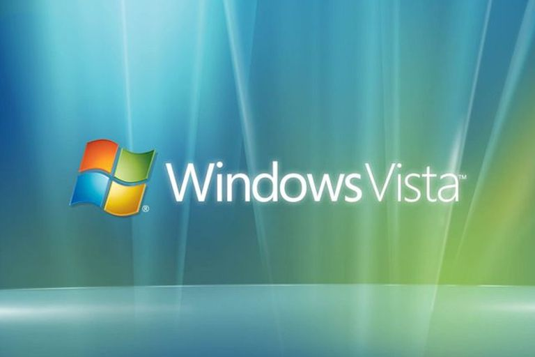 Windows Vista splash screen capture