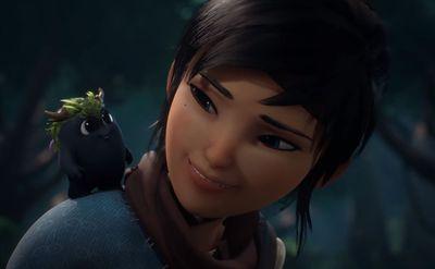 Screen capture of the game Kena: Bridge of Spirits