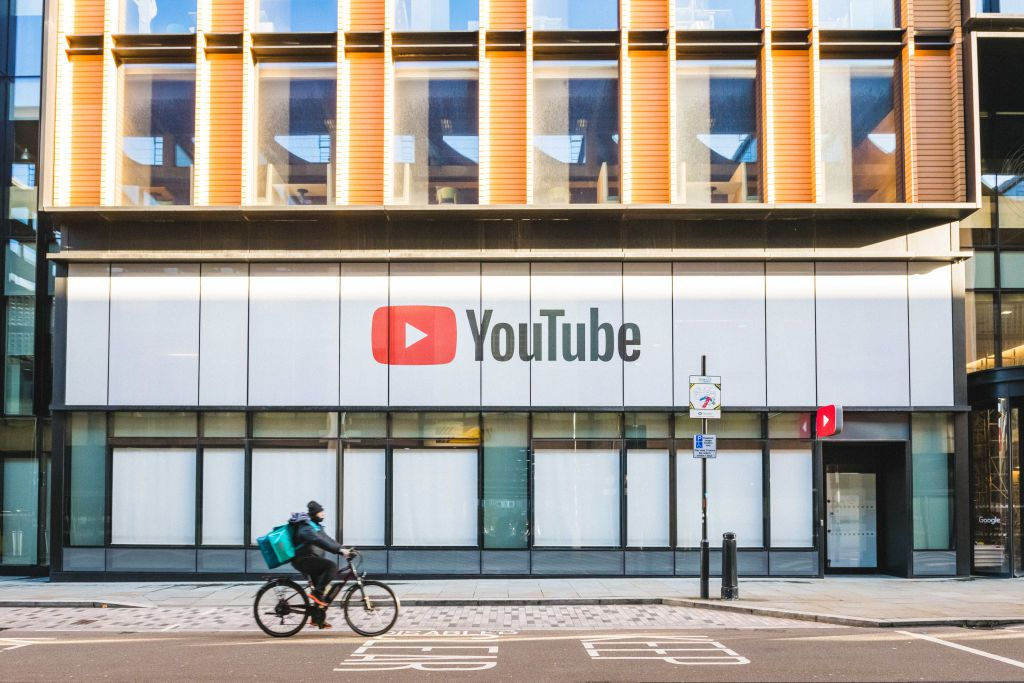 YouTube offices in London, England.