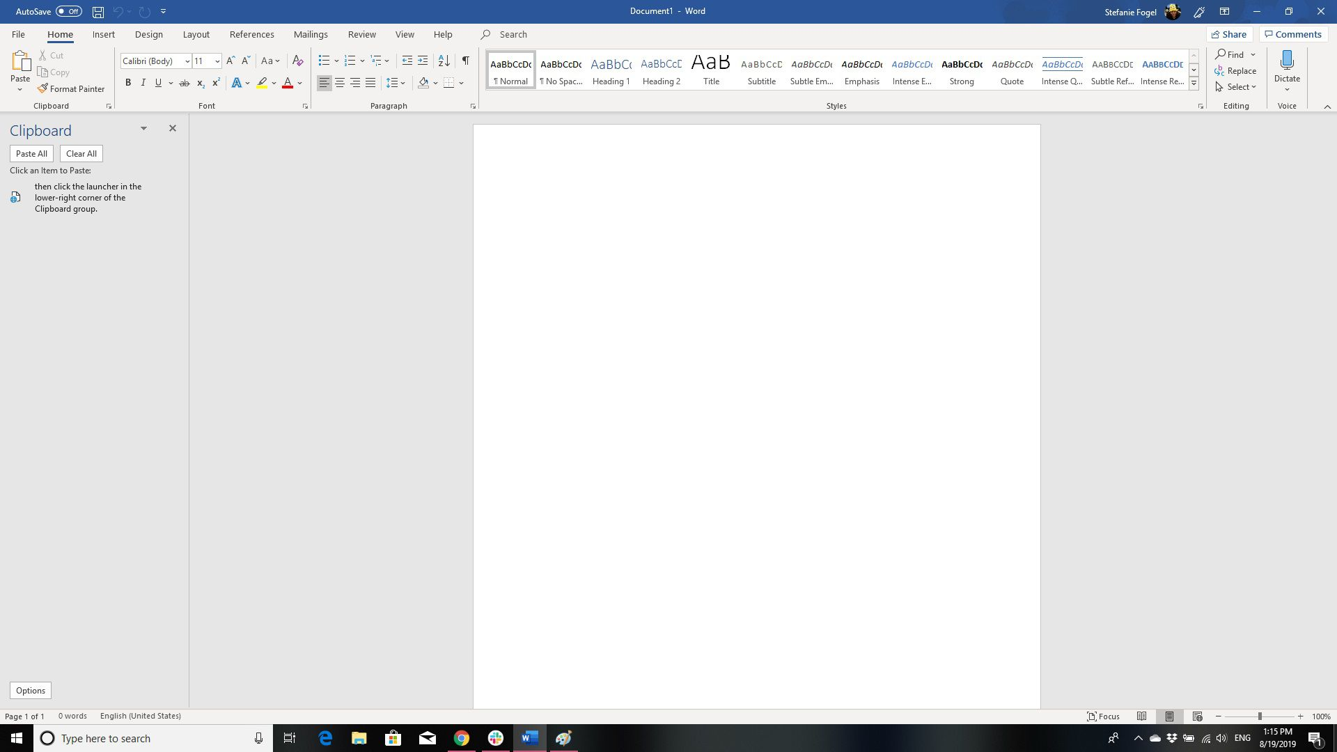 How to Cut, Copy and Paste in Microsoft Word