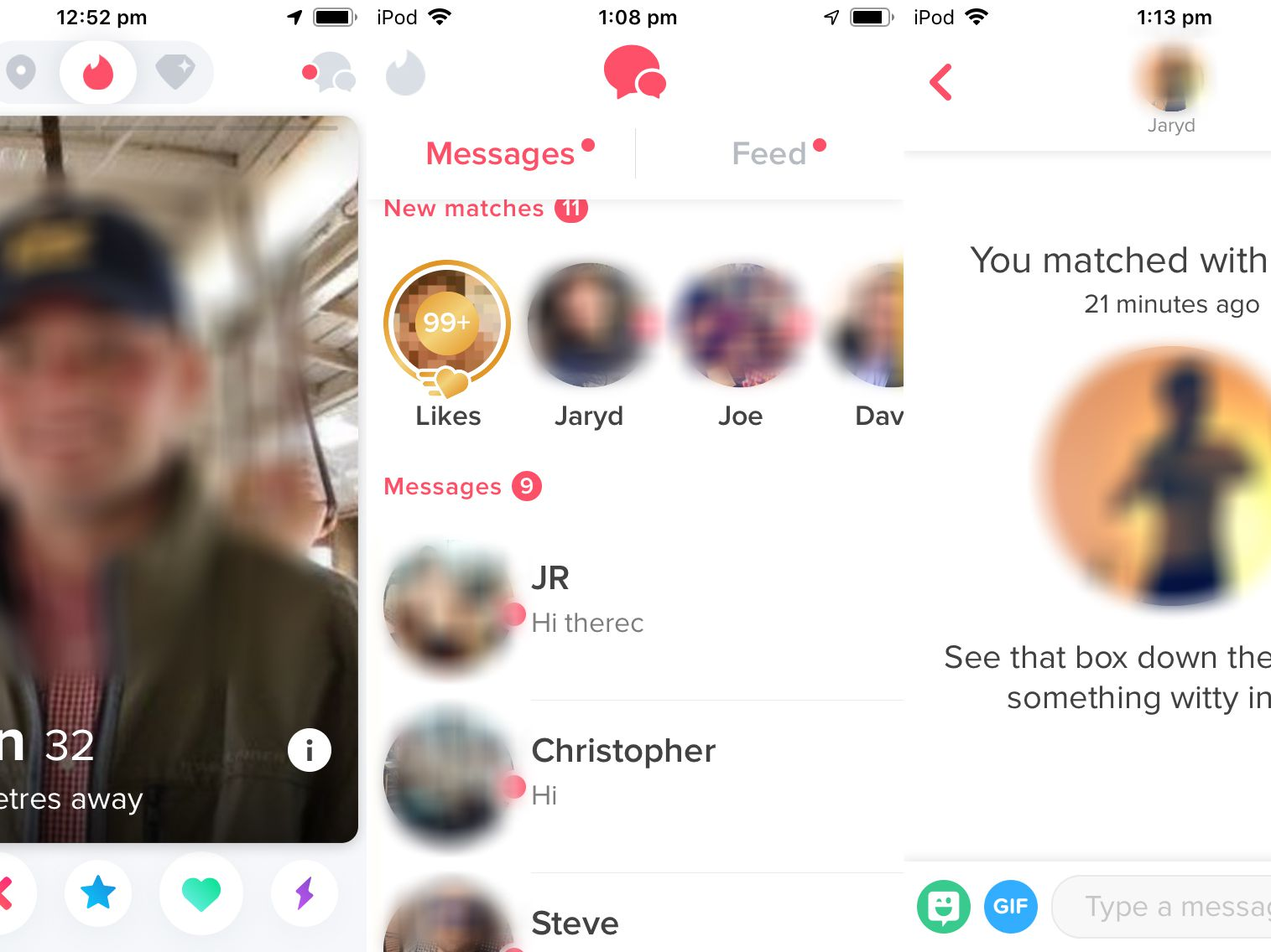 Blue what on mean does tinder star the How to