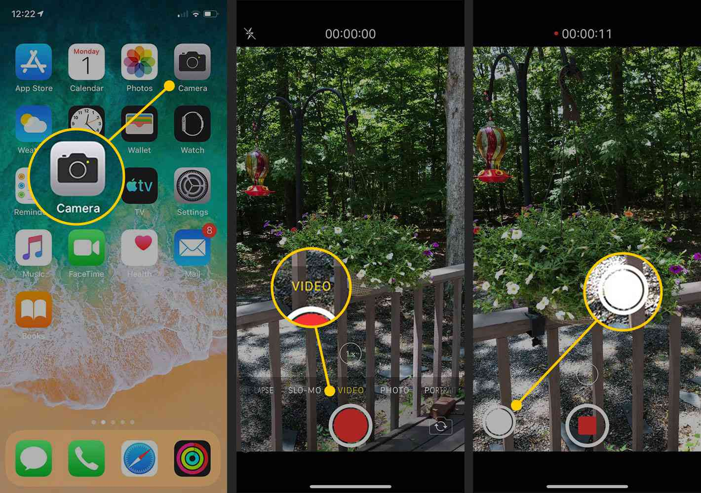 How to take a picture while shooting video in iOS