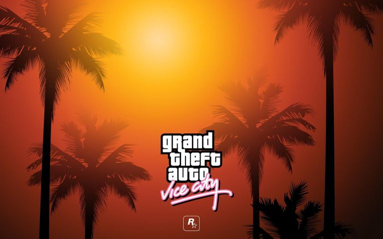 Logo of grand Theft Auto Vice City