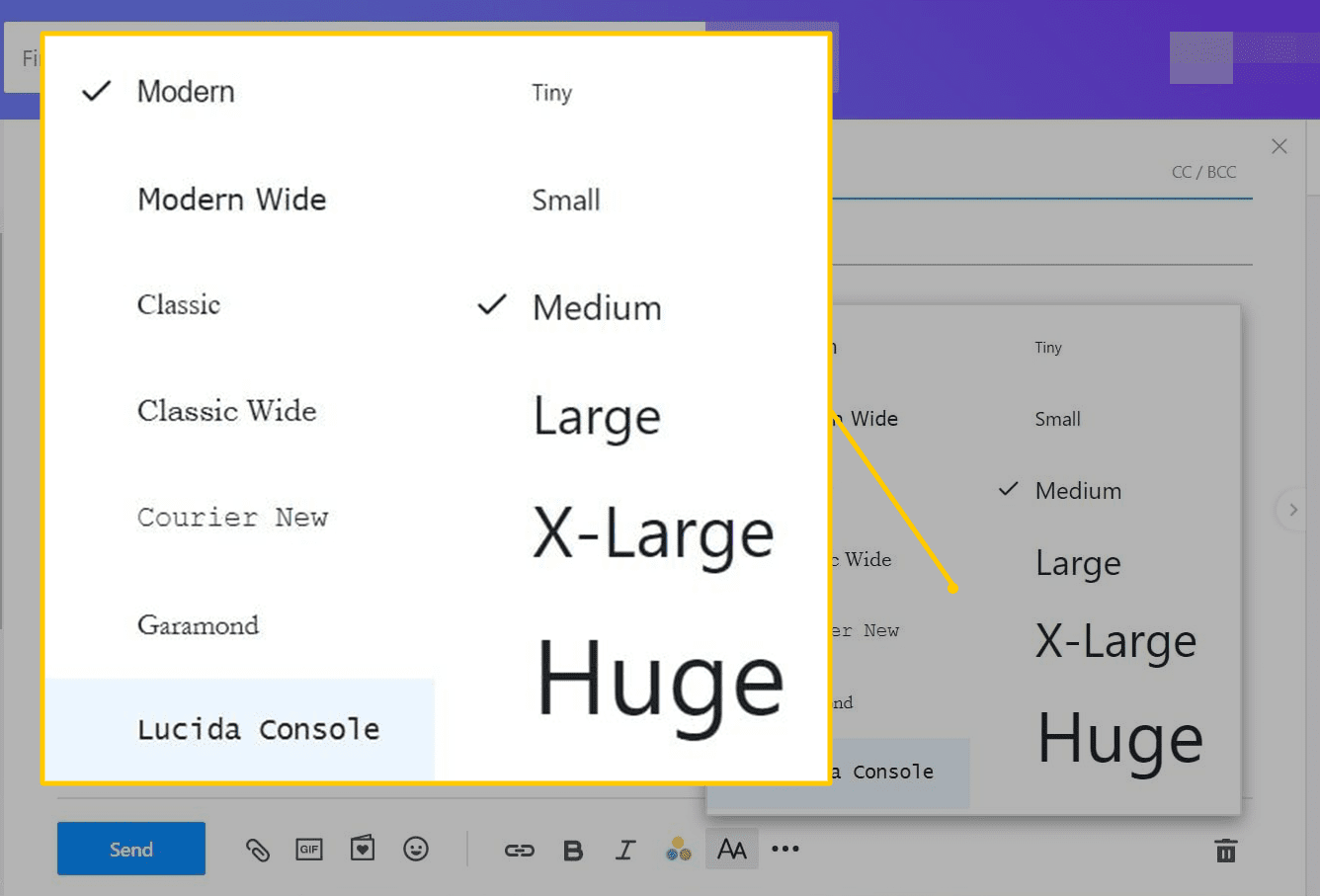 How to Use Custom Fonts in Yahoo Mail