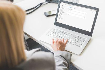 Managing Microsoft Edge notifications on a laptop.