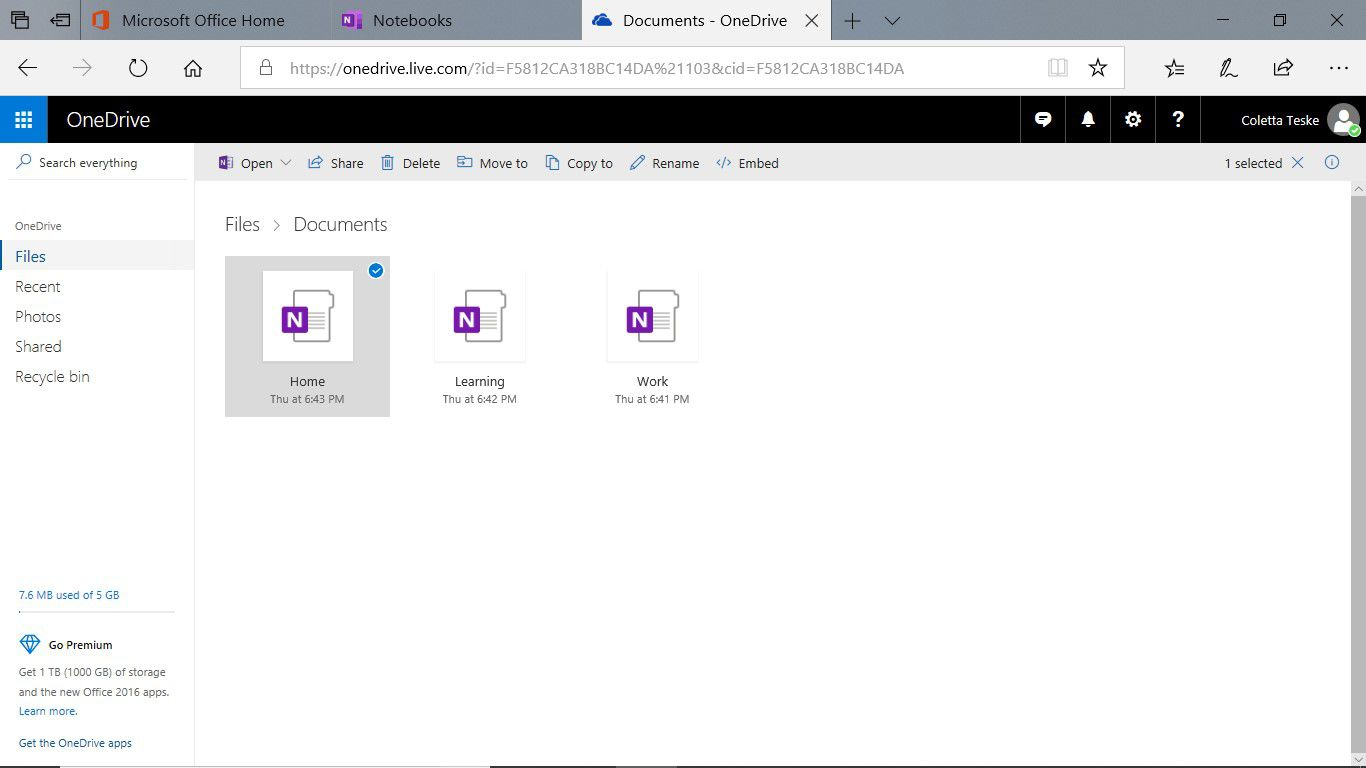 How to Delete Notebooks in OneNote
