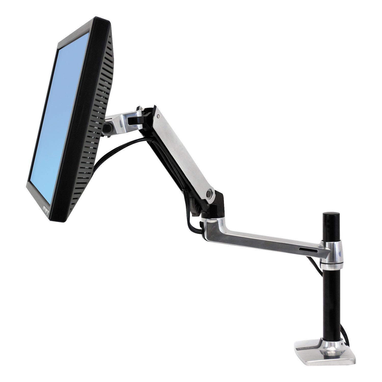 LX Desk Mount LCD Arm, Tall Pole