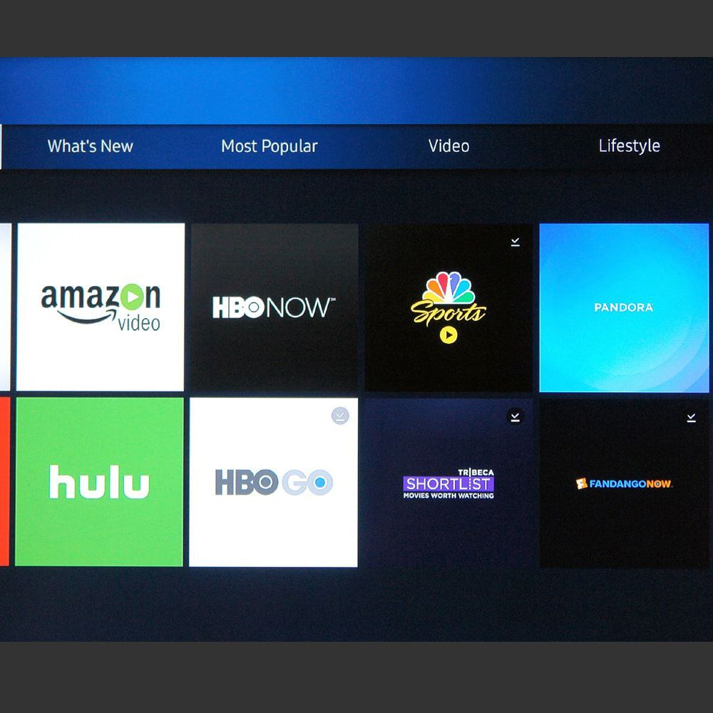 Samsung Apps for Smart TVs and Blu-ray Players