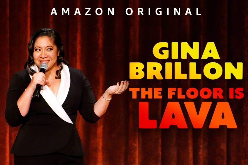Gina Brillon: The Floor is Lava promotional image