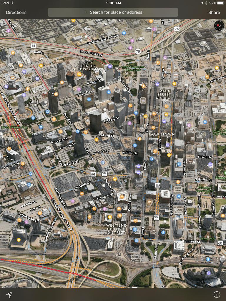 Apple Maps 3D feature