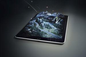 3D image on tablet