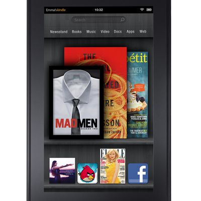Amazon Kindle Fire e-reading tablet