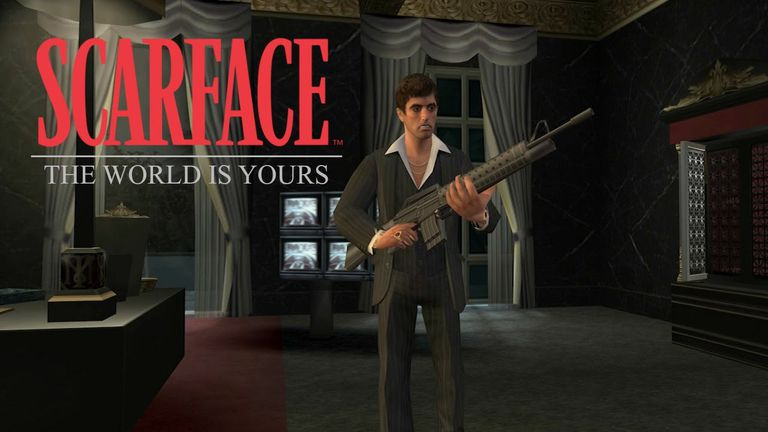 Screenshot from the game Scarface: The World Is Yours
