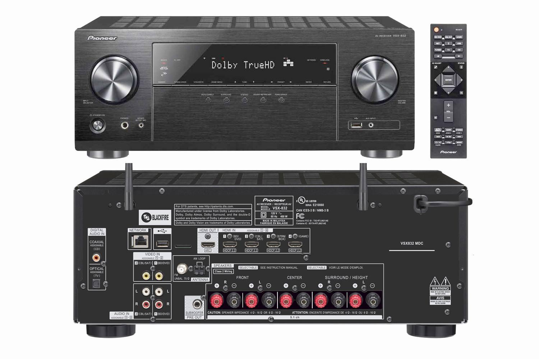 best speaker setup options: pioneer vsx-832  pioneer vsx-832 network home  the 10 best home theater receivers