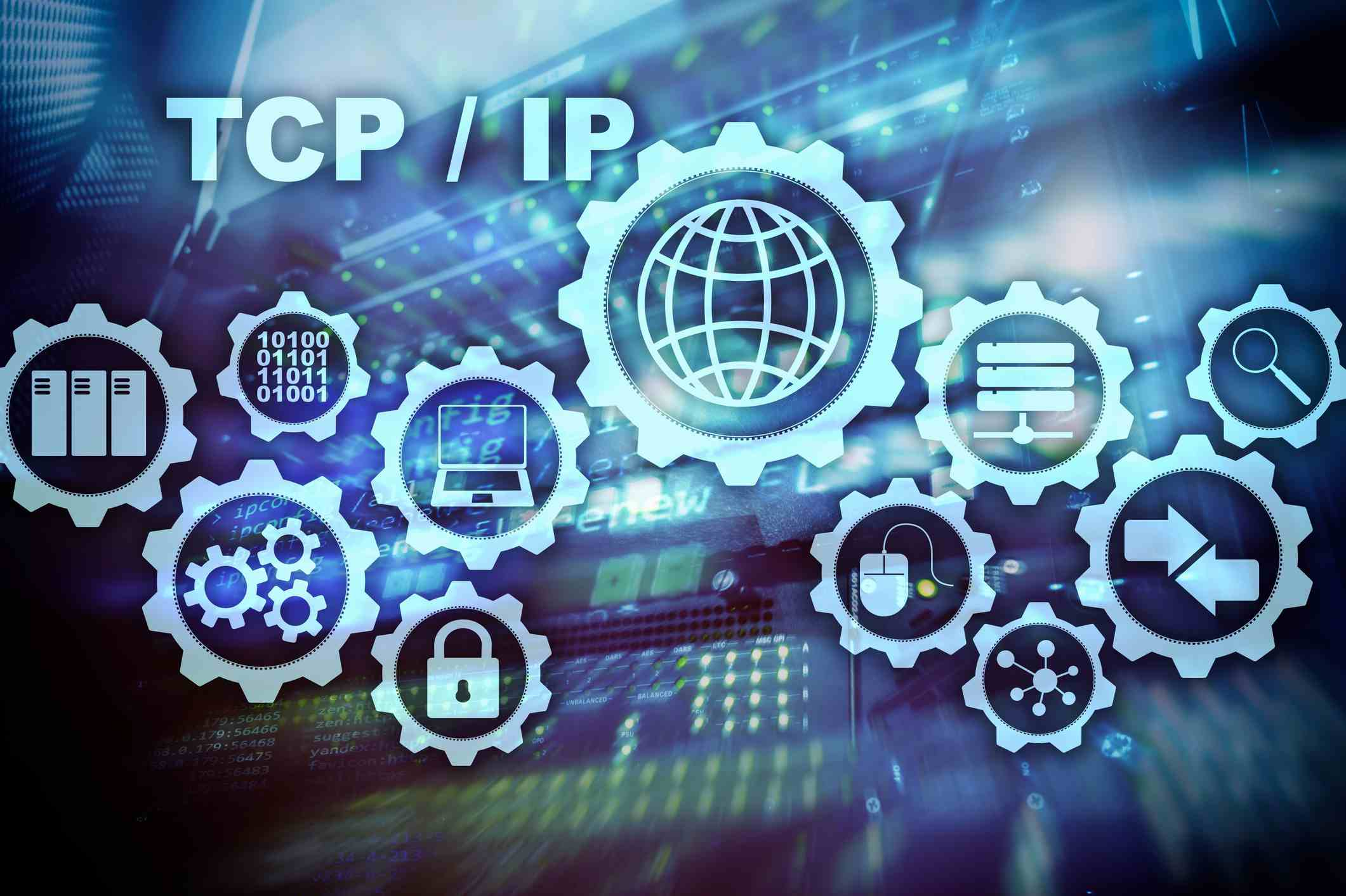 The computer networking terms TCP/IP