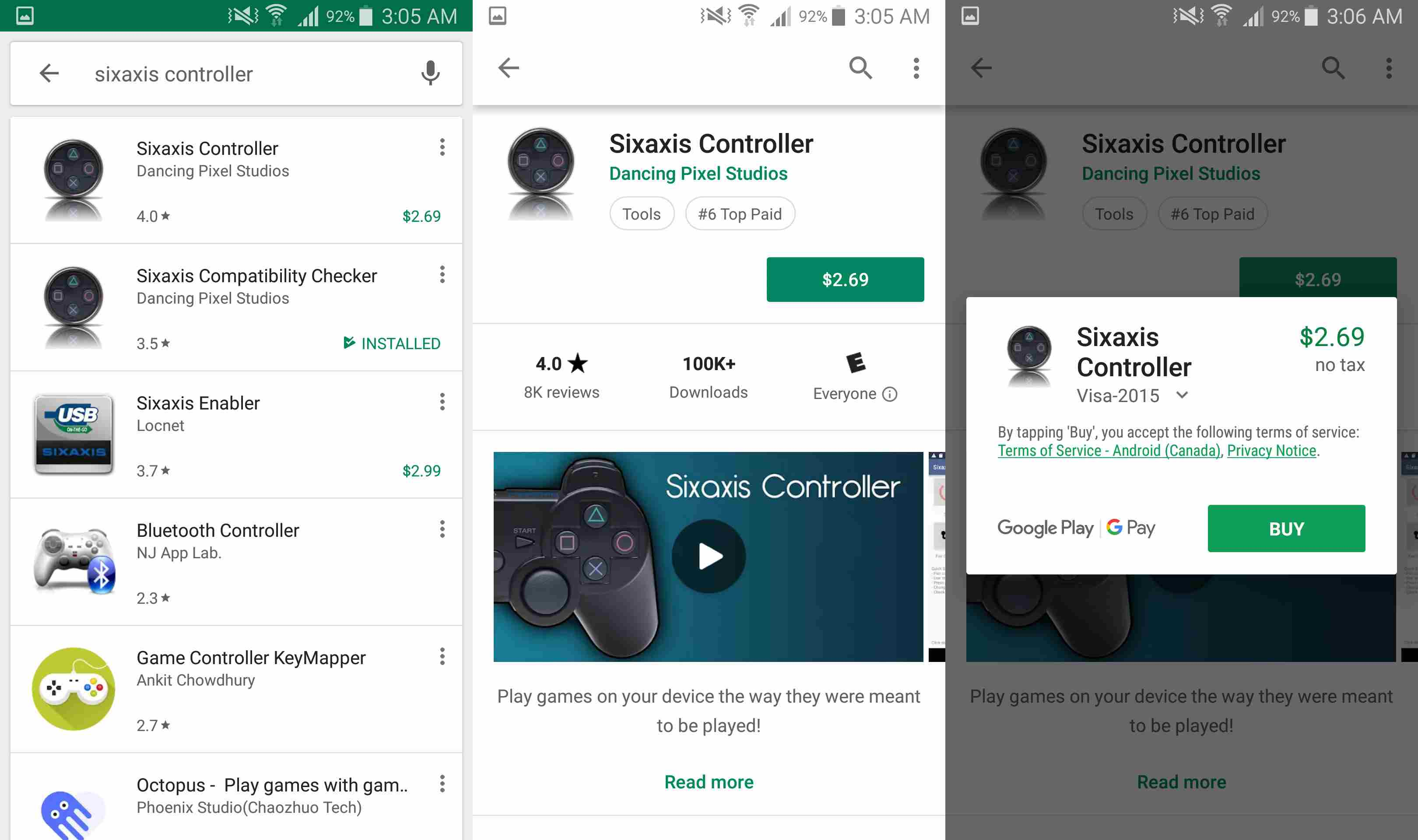 How to Connect Your PS3 Controller to Android