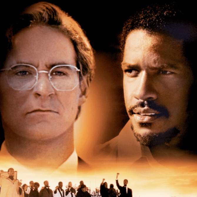 Promotional image for the film Cry Freedom