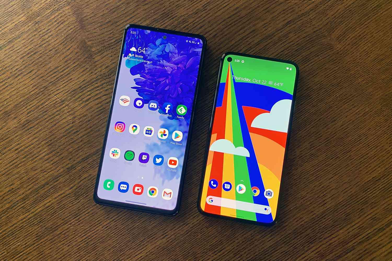 S20 FE vs. Pixel 5