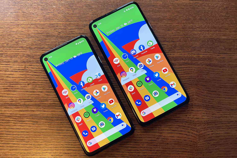 Google Pixel 4a vs. Google Pixel 4a 5G