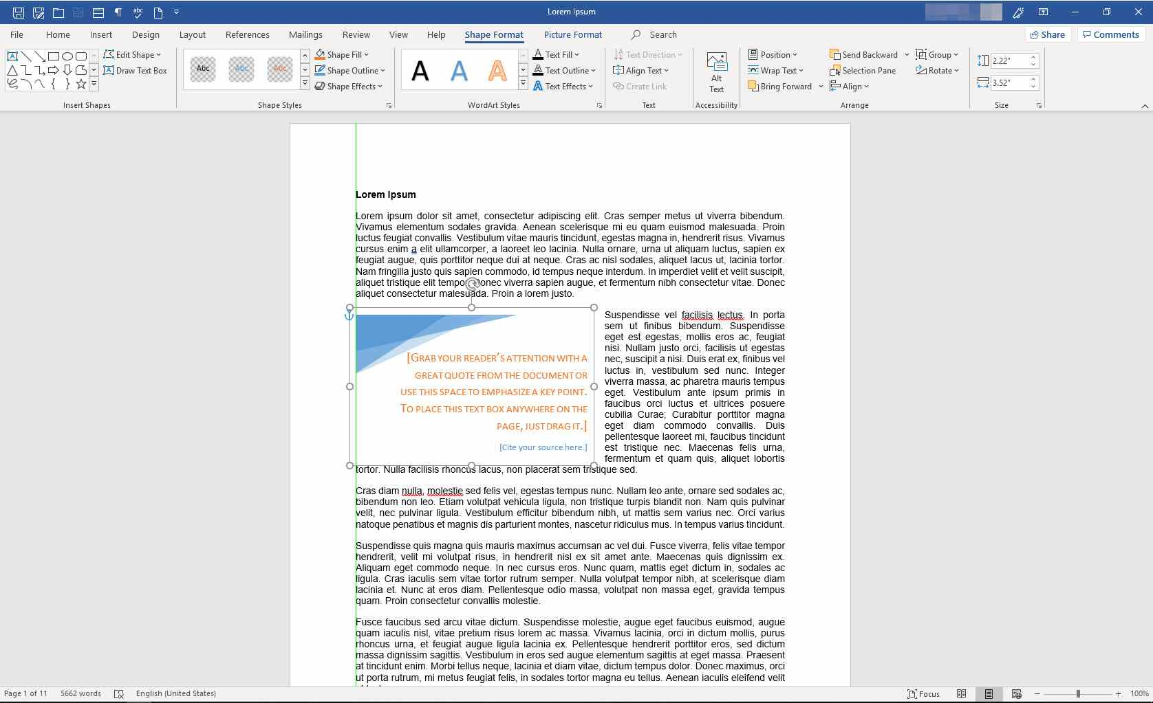 Working With Text Boxes in Microsoft Word