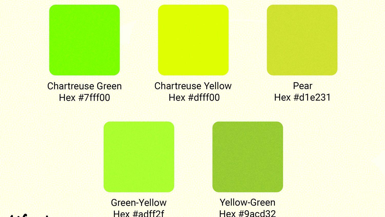 23 Chartreuse Hexadecimal Color Code