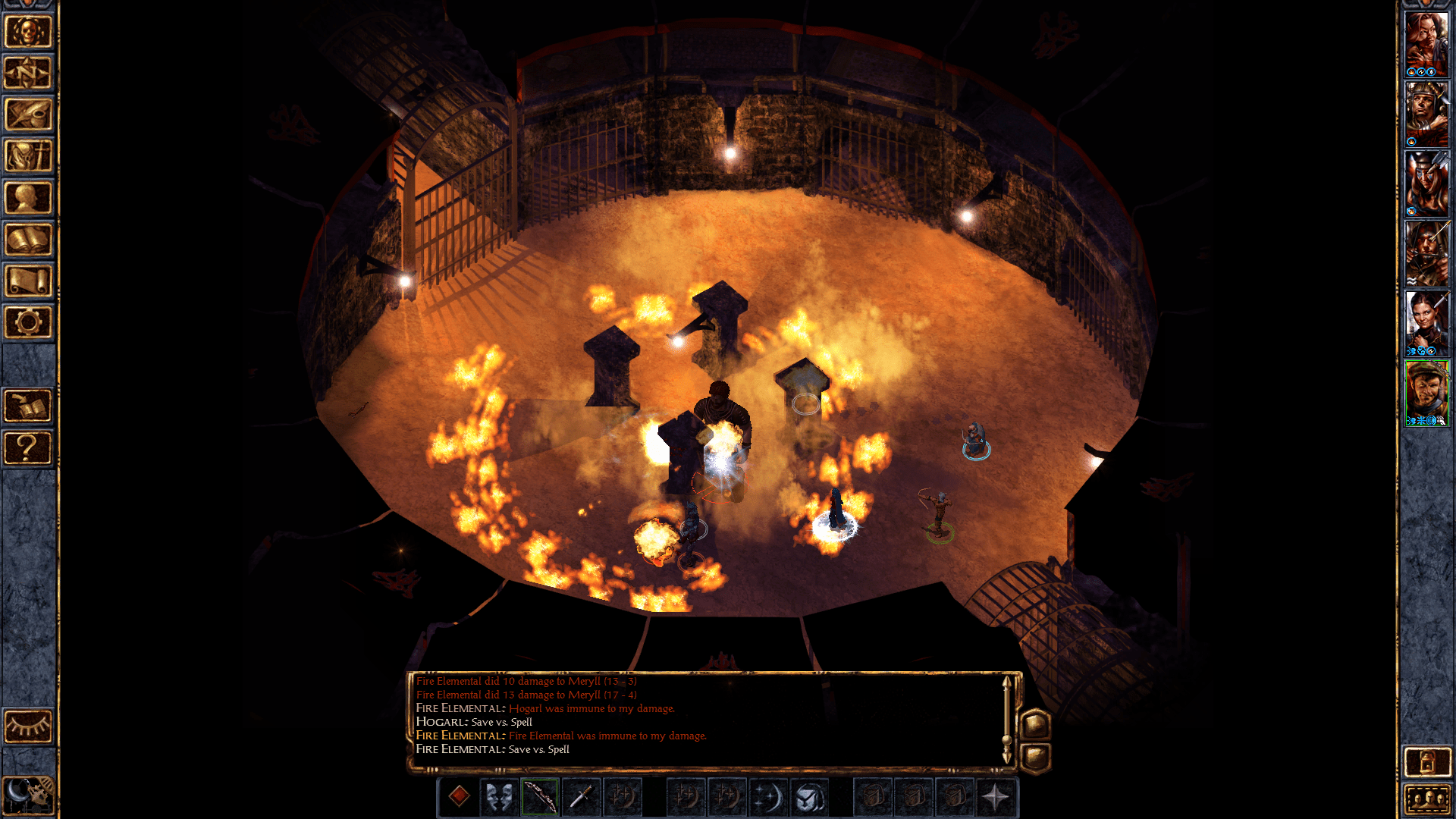 Baldur's Gate: Enhanced Edition on iPad