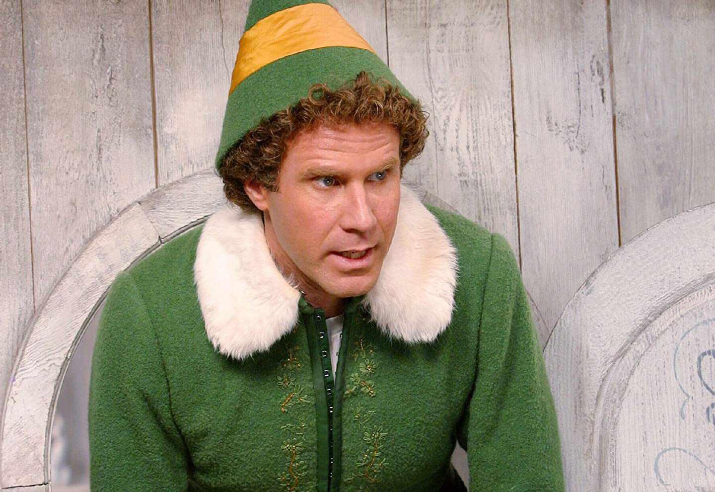 Will Ferrell as Buddy in the movie Elf