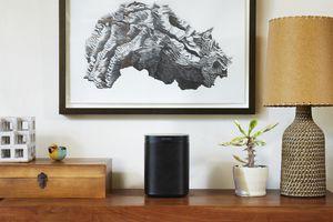 Sonos One On A Shelf