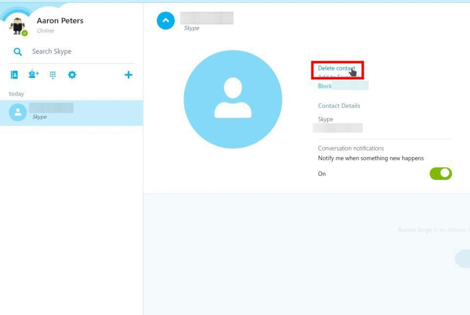 How to Delete Skype Contacts