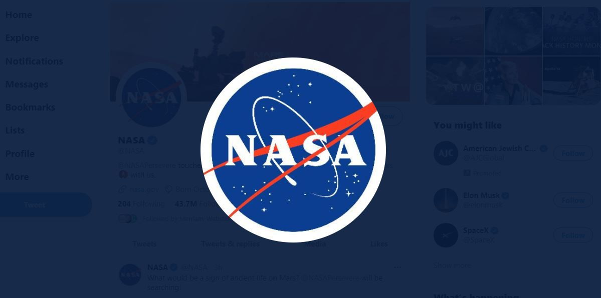 NASA Icon on Twitter
