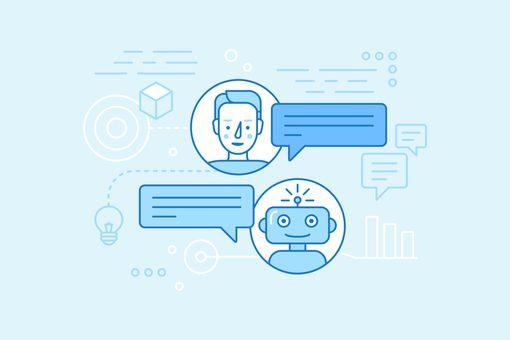 illustration of a chatbot