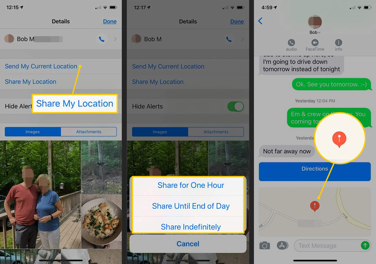How to Share Your Location on iPhone or iPad