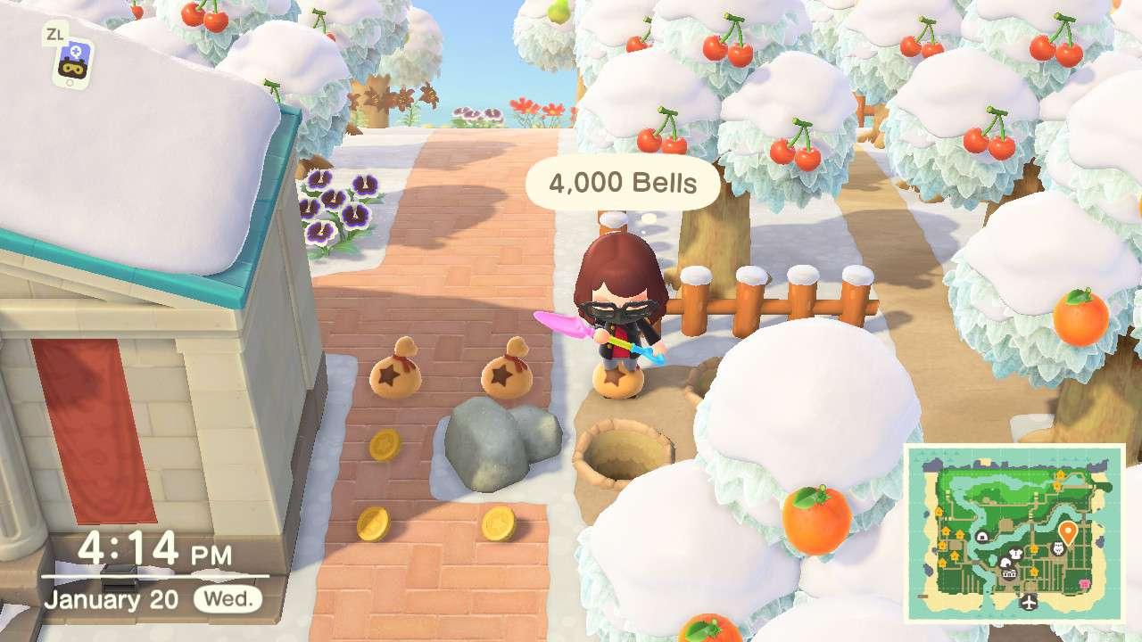 The money rock in Animal Crossing.