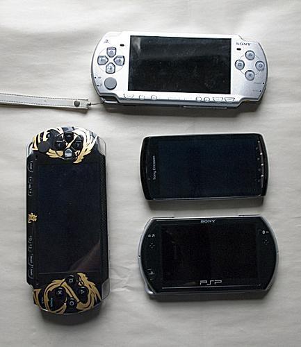 PSP=1000, 2000, Xperia Play and PSPgo