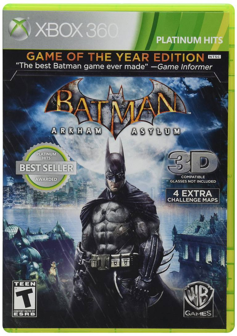 Batman Arkham GOTY box