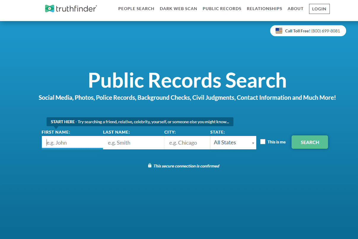 people truthfinder search engines anyone web find