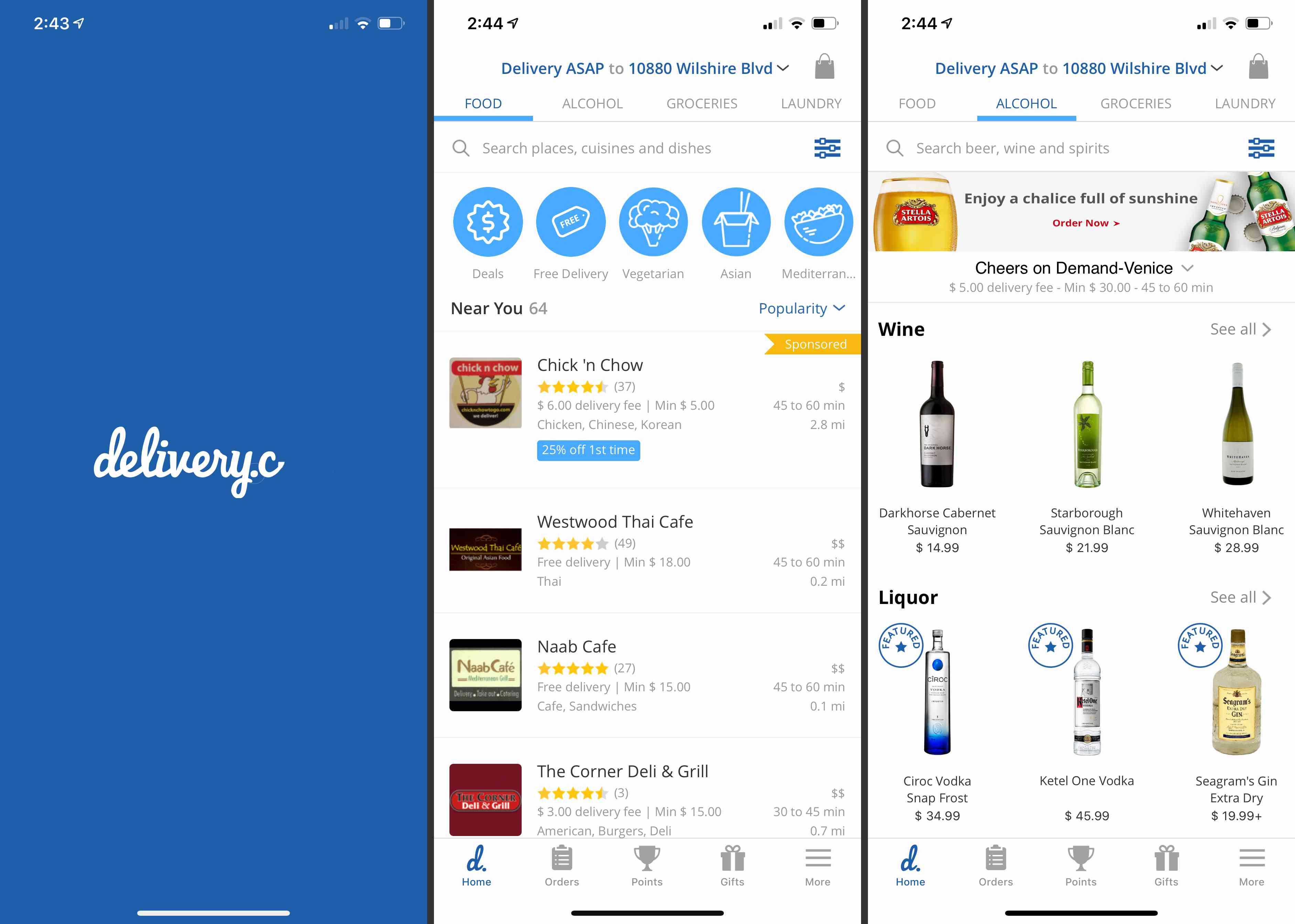 Delivery.com app