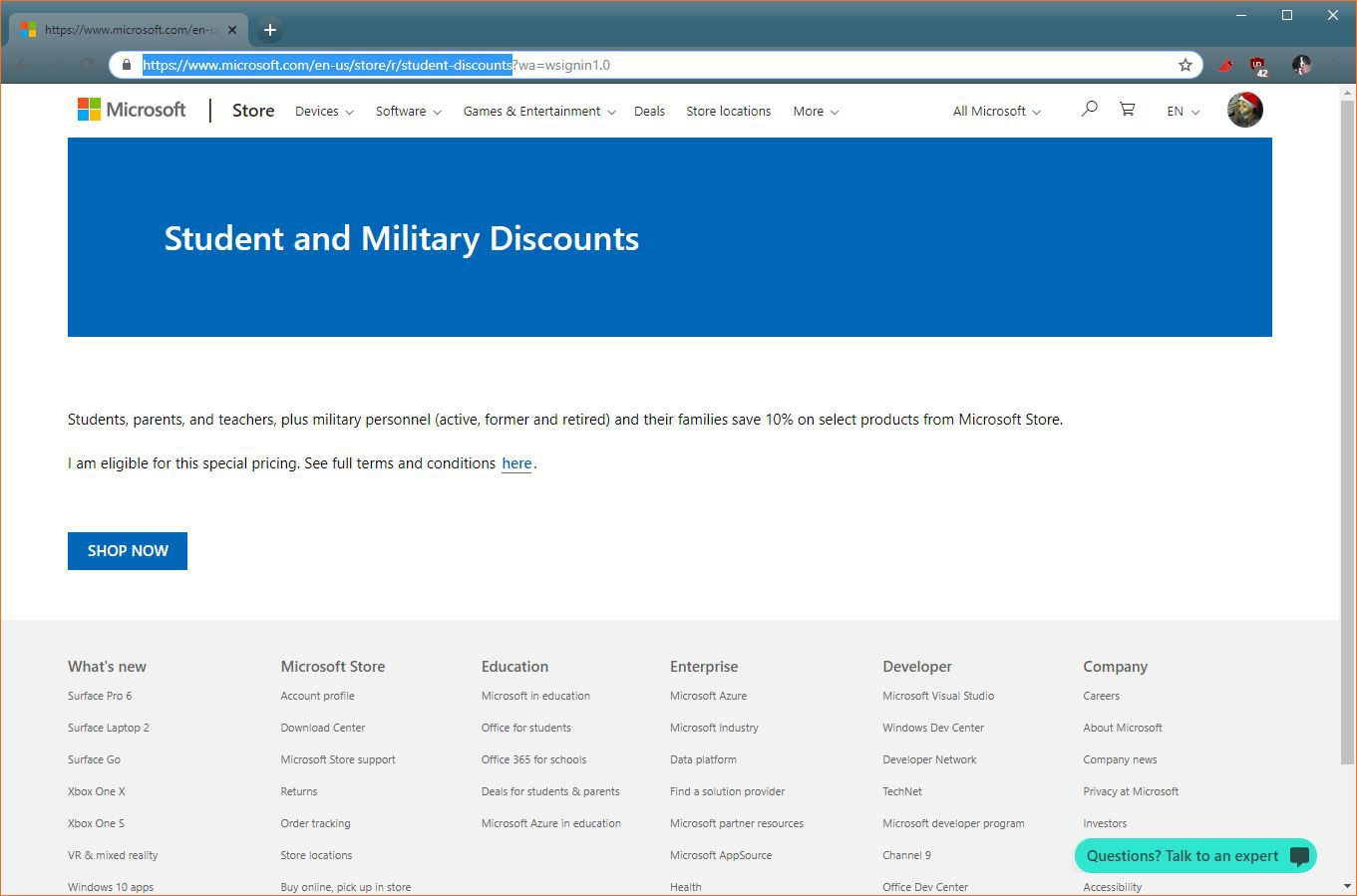 How to Get A Microsoft Store Student Discount