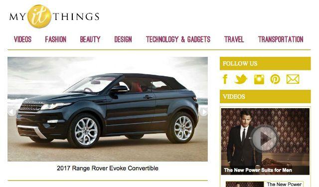 MyItThings homepage