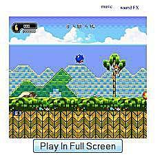 Sonic Widget Game