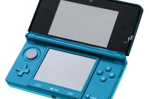 Nintendo 3DS in Aqua Blue