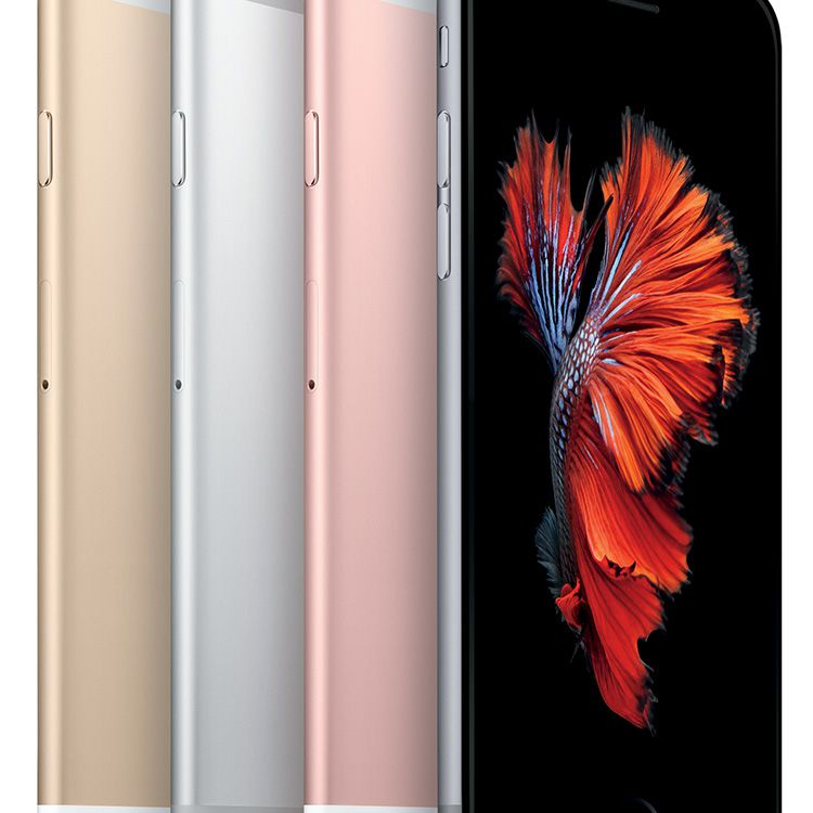 iPhone 6S color line up