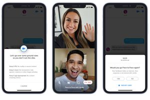 Tinder Face to Face promotional image
