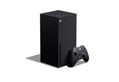 The Xbox Series X console.