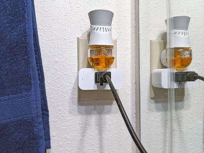 An Amazon Smart plug in use.