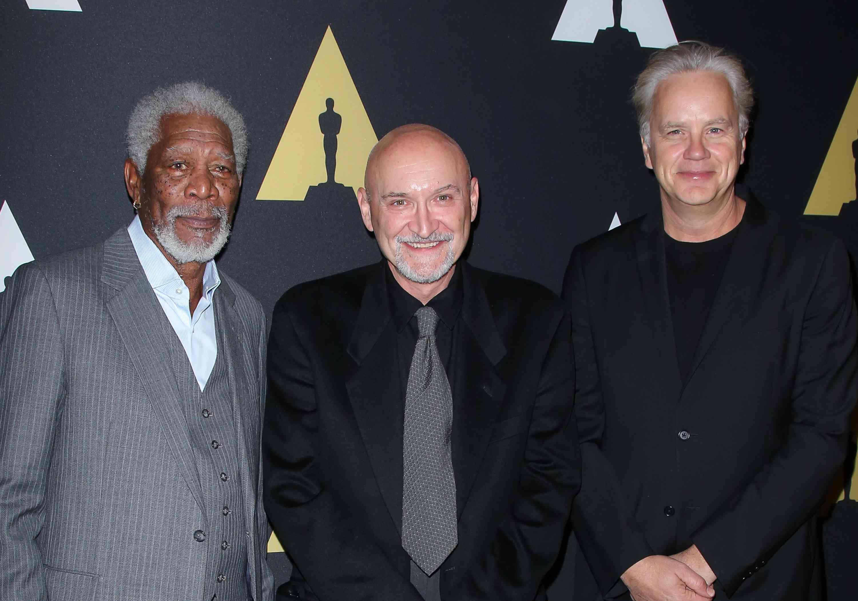 Morgan Freeman, Frank Darabont and Tim Robbins attend the 20th anniversary screening of